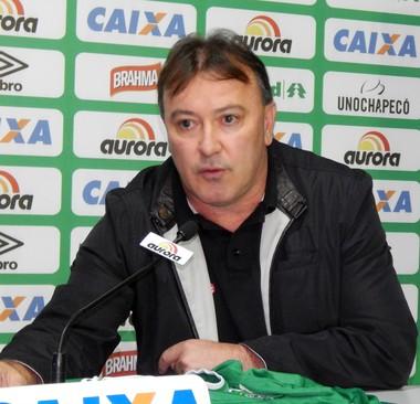 Vice de futebol João Carlos Maringá Chapecoense (Foto: Laion Espíndula)