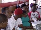 Haitianos se apegam às lembranças para amenizar a saudade em MS