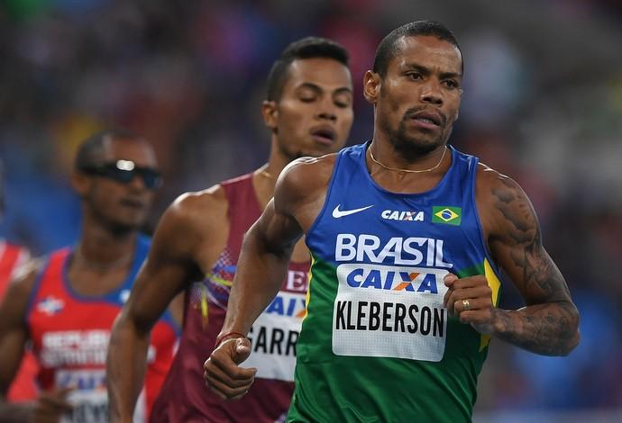Kleberson Davide conseguiu índice olímpico nos 800m no Engenhão (Foto: Getty Images)