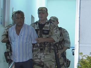 Edmacy Cruz Ubirajara, suspeito de atirar em promotor de Justiça. (Foto: Reprodução/ TV Globo)