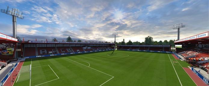Vitality Stadium (Foto: Divulgação/EA)