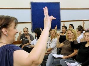 Curso de Libras será ensinado em Rio Preto neste mês de março (Foto: Divulgação/ Ricardo Boni)