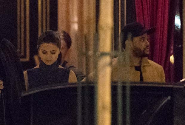 Selena Gomez e The Weeknd (Foto: The Grosby Group)