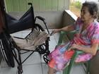 No interior do Acre, ex-hanseniana cria filha deficiente e netos