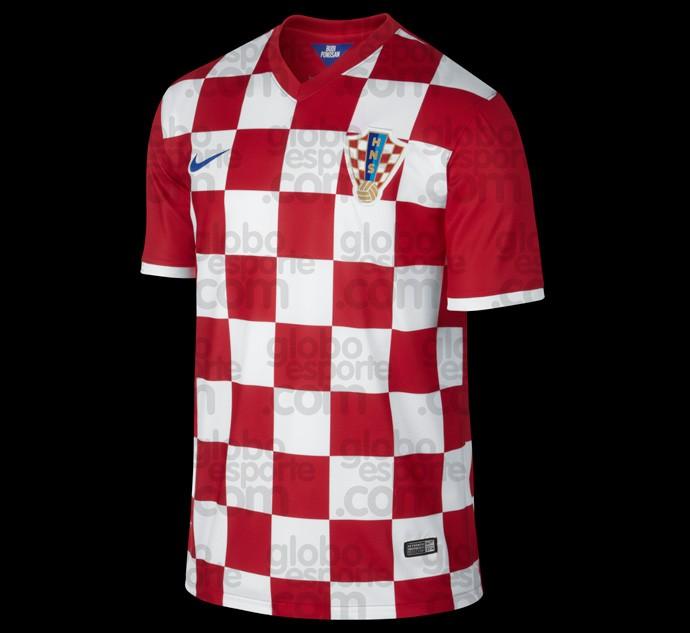 Camisa Croácia copa do mundo 2014
