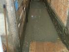 Chuva faz esgoto transbordar na capital (Osvaldo Nóbrega/ TV Morena)