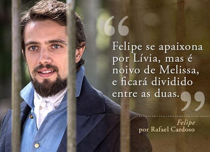 Felipe (Rafael Cardoso) (Foto: Gshow)