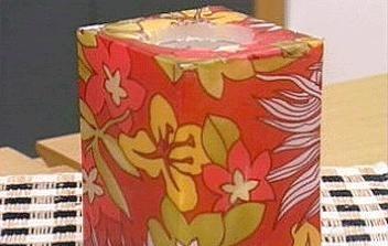 Velas de chifon dão colorido ao ambiente (Foto: Mais Você / TV Globo)