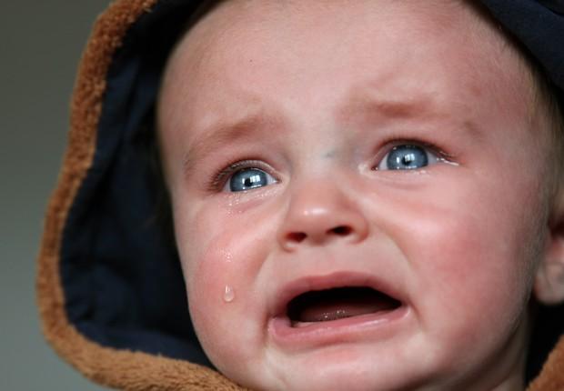 bebê chorando, criança, filho (Foto: Pexels)