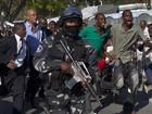 Presidente do Haiti é atacado durante cortejo de carnaval em Porto Príncipe