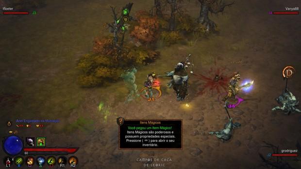 Versão para consoles de 'Diablo III' também terá legendas e vozes em português do Brasil (Foto: Divulgação/Blizzard)