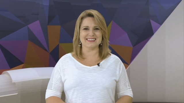 Vanessa Faro apresenta o Corpo em Ação (Foto: Reprodução/TV Tribuna)