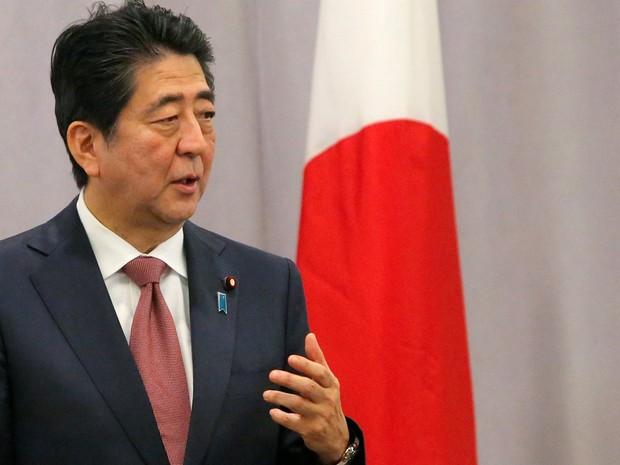 Nos EUA, Trump se reúne com premiê do Japão em Nova York