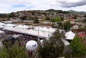 Mutirão de cidadania aconteceu em Mariana                      (Reprodução TV)