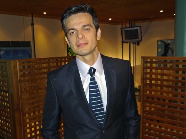 Otaviano Costa faz sua estreia no horário nobre (Foto: Salve Jorge/TV Globo)
