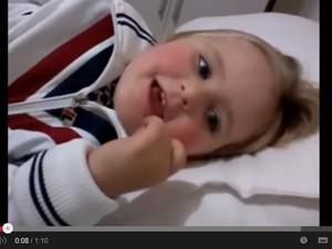 Vídeo já tem mais de 180 mil acessos (Foto: Reprodução/YouTube)