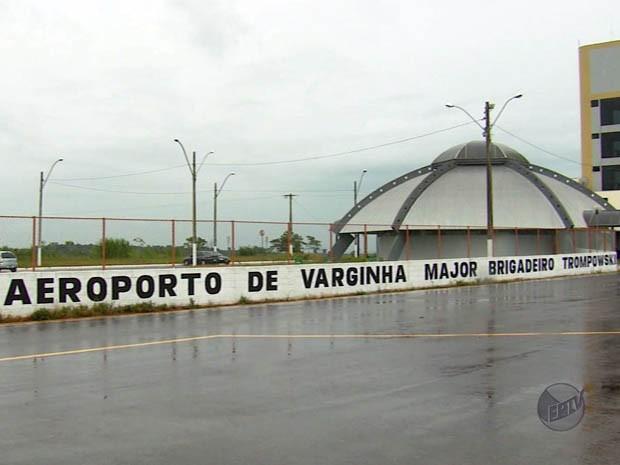 Falta de aprovação da Anac adia retomada de voos em Varginha (Foto: Reprodução EPTV)