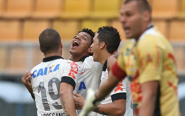 romarinho CORINTHIANS X ATLÉTICO SOROCABA (Foto: Daniel Teixeira/Agência Estado)