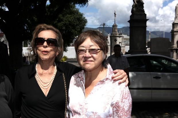 Betty Faria e Tizuka Yamasaki (Foto: Marcos Serra Lima / EGO)