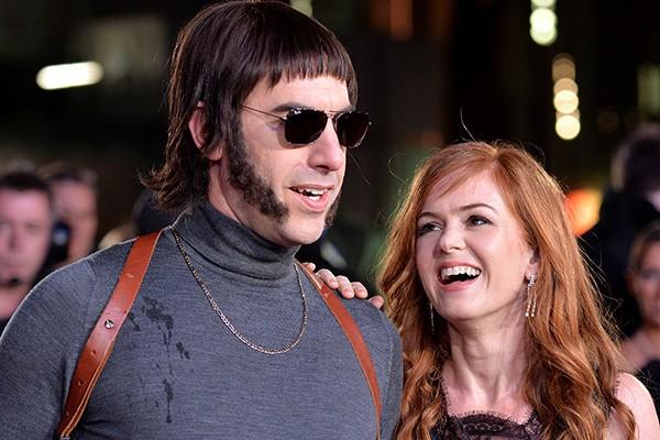 Sacha Baron Cohen e Isla Fisher (Foto: Getty Images)
