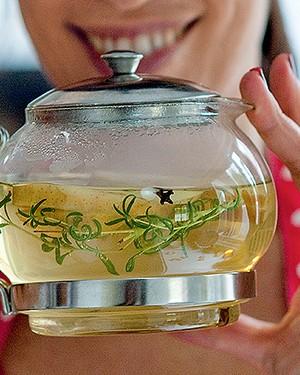 Chá de baunilha, maçã e cravo (Foto:  )