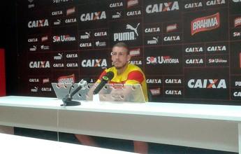 """Uillian Correia vê ataque do Vitória em grande fase: """"Momento importante"""""""