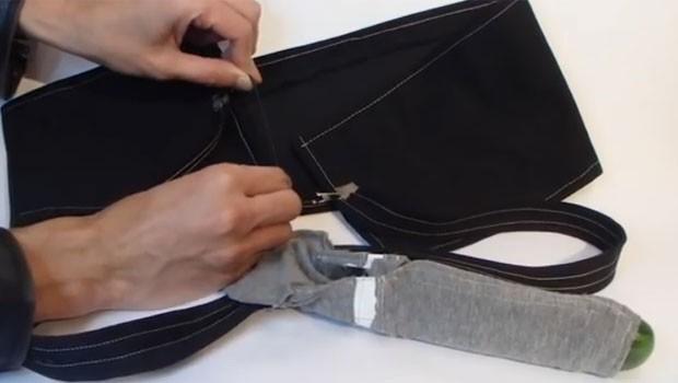 Preservativo gera pequenos impulsos elétricos que provocam prazer (Foto: Reprodução/YouTube/Digital Naturalism)