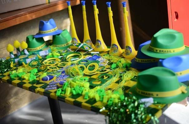Botequim do Mídia reuniu profissionais do mercado publicitário para celebrar a data e torcer pela seleção brasileira (Foto: Marketing/TV TEM)