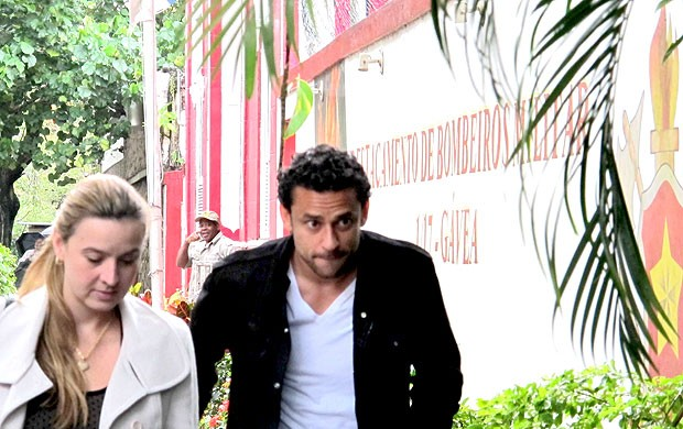 Fred delegacia Fluminense (Foto: Rafael Cavalieri / Globoesporte.com)