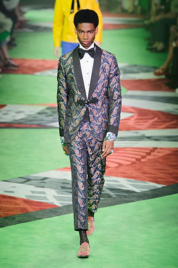 Gucci - Semana de Moda de Milão verão 2017 (Foto: IMAXTREE)