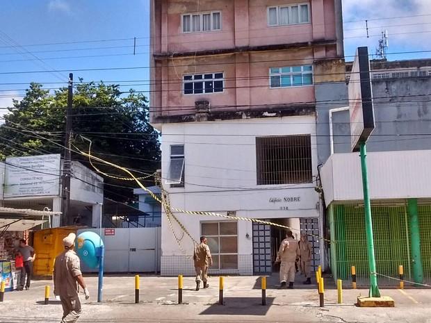 incêndio suassuna (Foto: Edna Nunes/Divulgação)