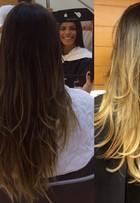 Ex-BBB Franciele Almeida muda visual e aparece com cabelos loiros