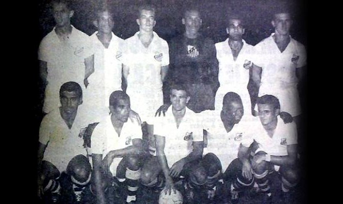 Combinado Santos Vasco Bellini (Foto: Divulgação / Centro de Memória e Estatística - Santos FC)