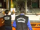 Operação Trânsito Seguro retém ônibus velhos em São Luís