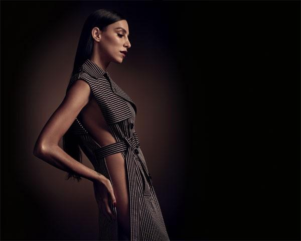 Lea T., cover girl da edição de março da Marie Claire (Foto: Gustavo Zylbersztajn (SD MGMT) / Edição de moda: Larissa Lucchese)