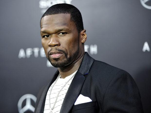 50 Cent na premiere de 'Depois da Terra', em 29 de maio de 2013 (Foto: Evan Agostini/Invision/AP)
