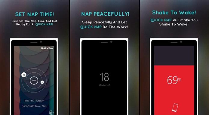 Quick Nap ajuda usuário a despertar na hora certa (Foto: Divulgação/Windows Store)
