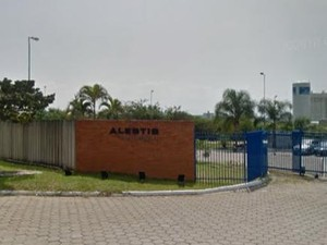 Alestis fornece para a Embraer (Foto: Reprodução/Google Street View)
