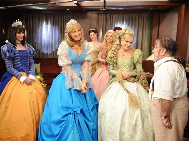 As princesas vão buscar ajuda no mundo real (Foto: Divulgação / Reprodução)