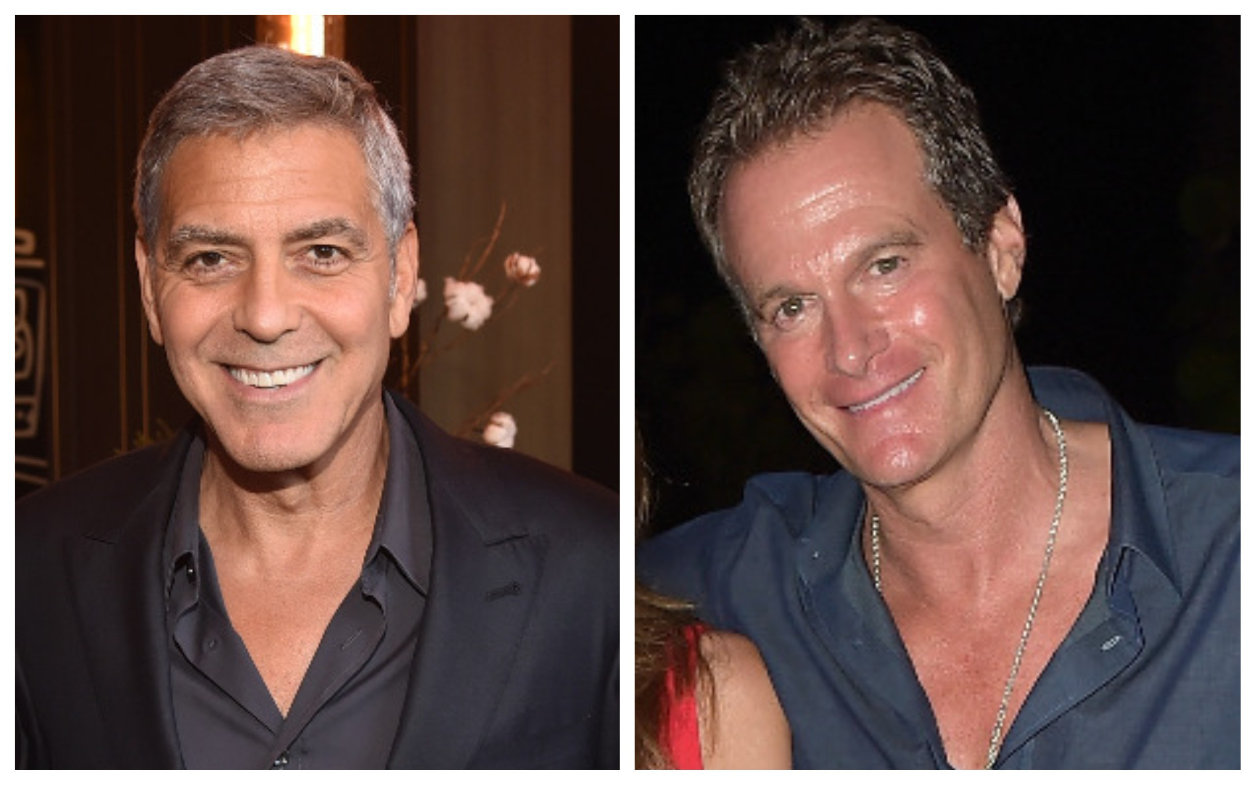 George Clooney e Rande Gerber (Foto: Getty Images)