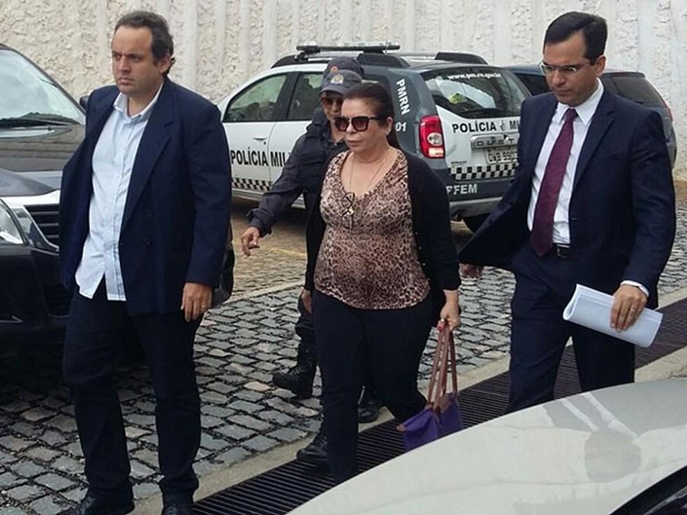 Ex-procuradora da AL, Rita Mercês foi um dos principais alvos da Operação Dama de Espadas (Foto: Sérgio Henrique Santos/Inter TV Cabugi)