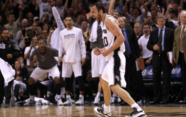 Manu Ginóbili, San Antonio Spurs (Foto: Getty Images)
