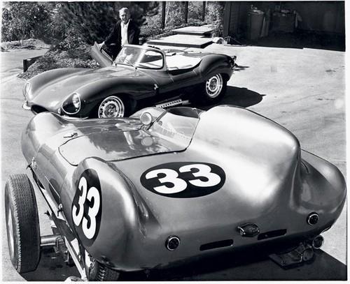 Foto (Foto: McQueen seu XKSS e uma Lotus - Divulgação)