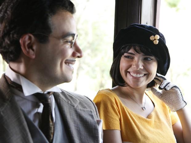 Malvina e Josué partem para Salvador em busca de um futuro melhor (Foto: Gabriela / TV Globo)