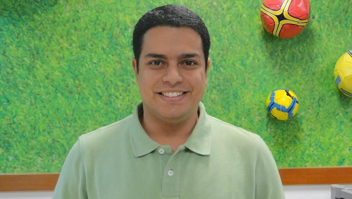 Henrique Fernandes, comentarista do Sportv (Foto: GloboEsporte.com)