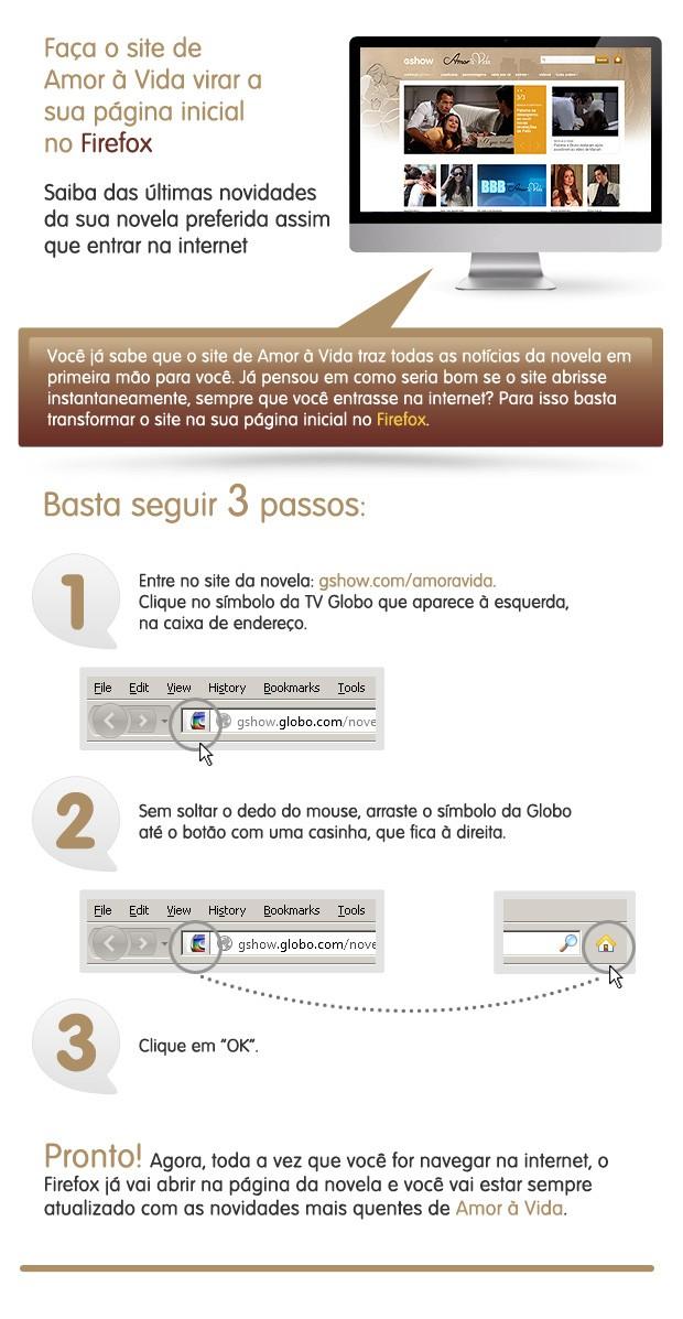 Firefox Amor à Vida (Foto: Amor à Vida/TV Globo)