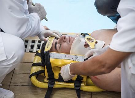 Diogo é resgatado inconsciente