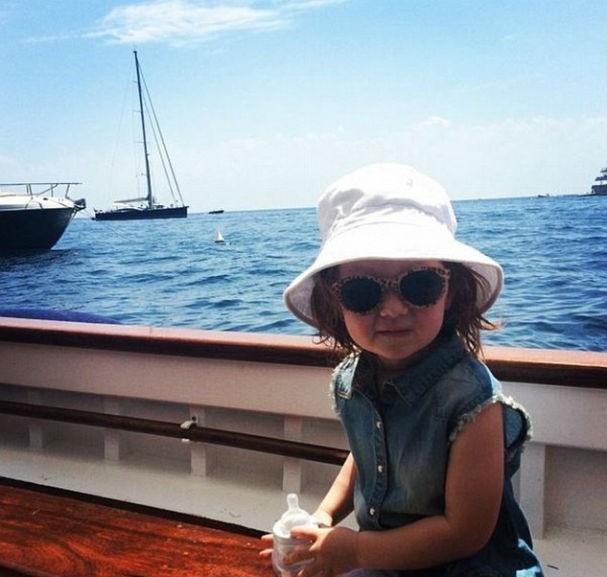 De barco na Costa Amalfitana, tá, meu bem? (Foto: Reprodução/Instagram)