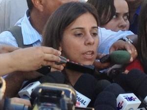 Adriana Ribeiro, delegada de Homicídios de Goiânia (Foto: Fernando Vasconcelos / G1)