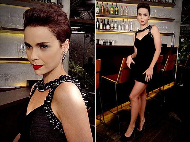 Nina vai chamar atenção com o visual totalmente diferente (Foto: Avenida Brasil/TV Globo)